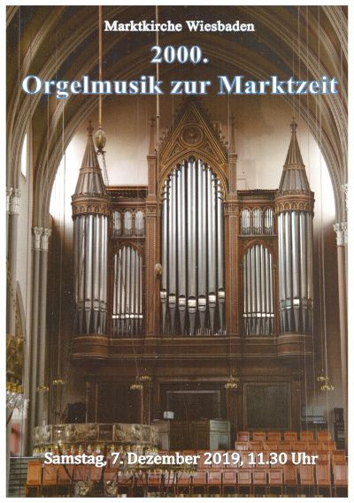 2000th Organ Music at Market Time