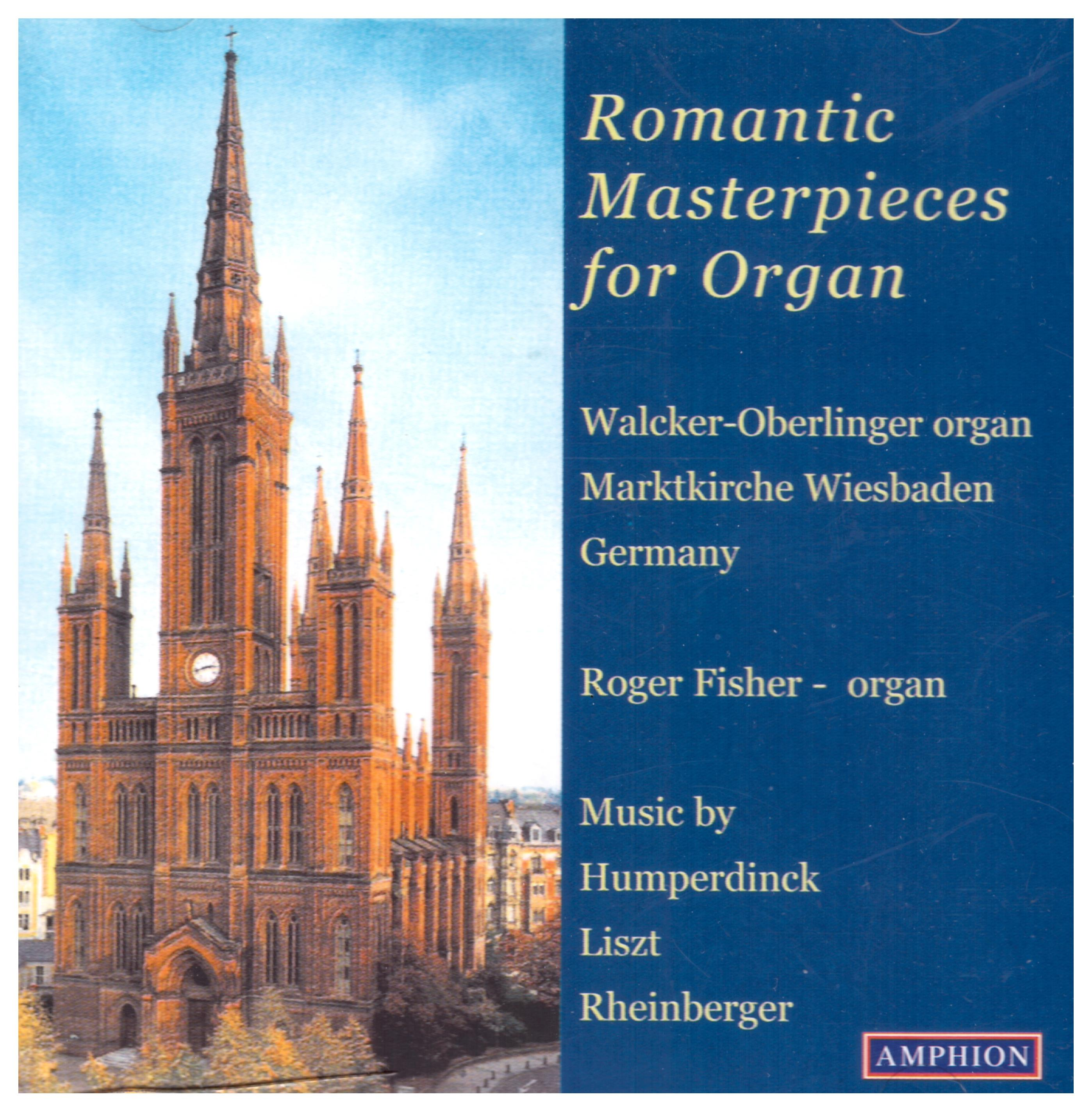 Romantic Masterpieces for Organ