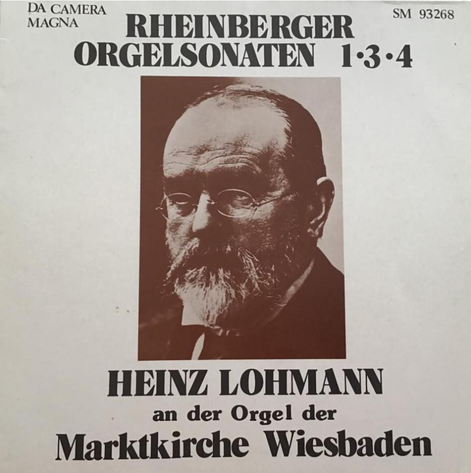 Rheinberger Orgelsonaten 1+3+4